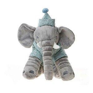 Almofada Buguinha Elefante Baby Boy  Bupbaby - BUP3585