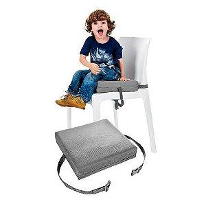 Almofada Para Cadeira Cinza Kababy - 17502C