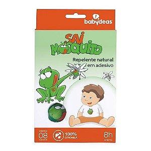 Adesivo Repelente Infantil Sai Mosquito - Babydeas - 70010404