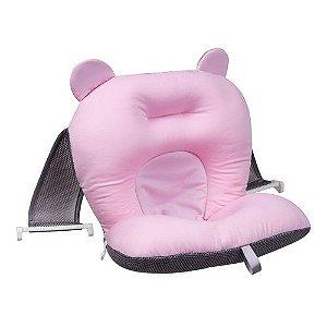 Almofada Para Banho Rosa - Baby Bath - B21416