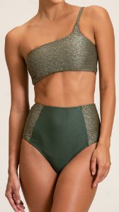 CALCINHA HOT PANTS LUREX
