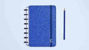 Caderno Inteligente - Glitter Blue A5