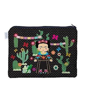 Necessaire Flat - Frida Khalo | Raizler