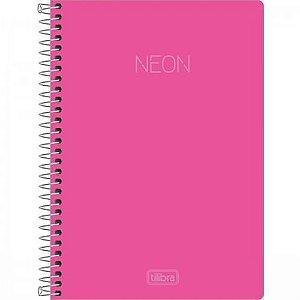 Caderno Rosa Neon - 10 Matérias | Tilibra