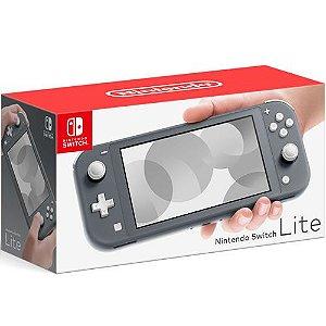 Console Nintendo Switch Lite 32GB Cinza - Nintendo