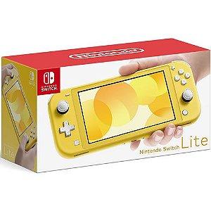 Console Nintendo Switch Lite 32GB Amarelo - Nintendo
