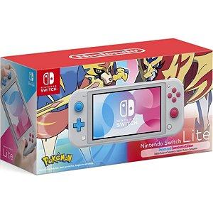 Console Nintendo Switch Lite 32GB Pokémon Zacian and Zamazenta Edition - Nintendo