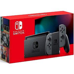 Console Nintendo Switch 32GB Cinza - Nintendo