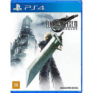 Game Final Fantasy VII Remake - PS4