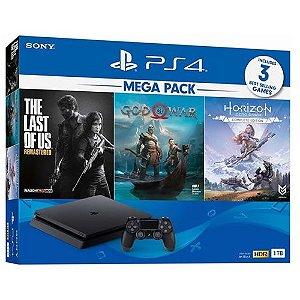 Console PS4 1TB MegaPack CUH2215B - Sony