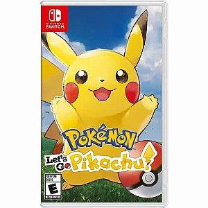 Game Pokémon Let's go Pikachu - Switch