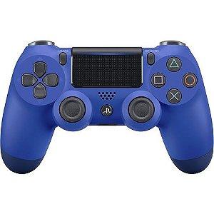 Controle Dualshock 4 Sem fio Azul - Sony