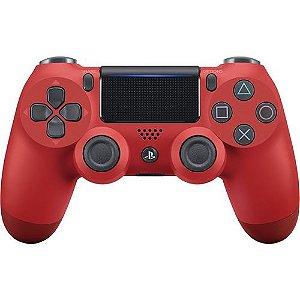 Controle Dualshock 4 Sem fio Vermelho - Sony