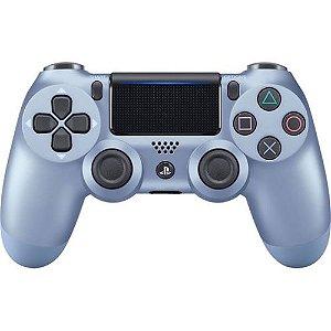 Controle Dualshock 4 Sem Fio Azul Titânio - Sony