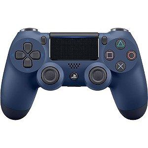 Controle Dualshock 4 Sem Fio Midnight Blue - Sony