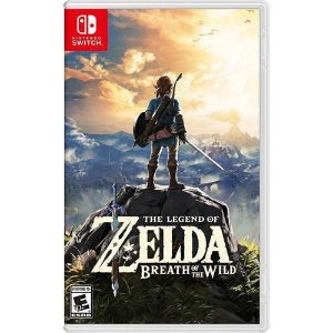 Game The Legend of Zelda Breath of The Wild - Switch