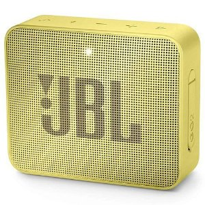 Caixa de Som JBL Go 2, Bluetooth, À Prova D´Água, 3W, Amarelo - JBL