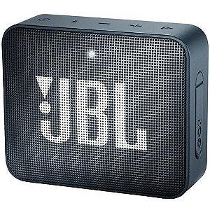 Caixa de Som JBL Go 2, Bluetooth, À Prova D´Água, 3W, Navy - JBL