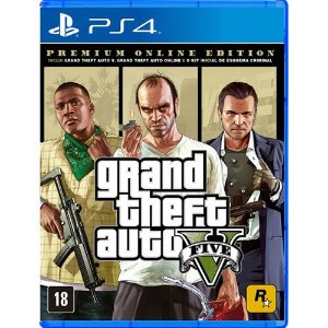 Game Grand Theft Auto V Premium Online Edition - PS4