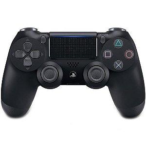 Controle DualShock 4 Sem fio PS4 Preto - Garantia Oficial Sony