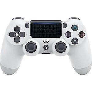 Controle DualShock 4 Sem fio PS4 Branco Glacial - Garantia Oficial Sony
