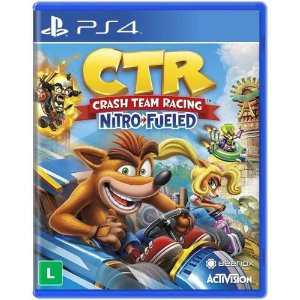 Game CTR Crash Team Racing Nitro Fueled - PS4