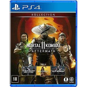 Game Mortal Kombat 11 Aftermath - PS4