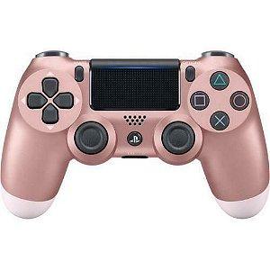 Controle DualShock 4 Sem fio PS4 Rosa Dourado - Garantia Oficial Sony