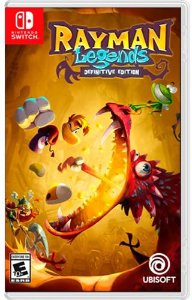Game Rayman Legends Definitive Edition - Switch