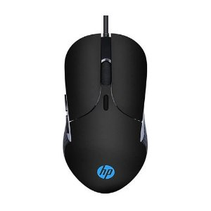 Mouse Gamer HP M280, RGB, 6 Botões, 6400DPI - Preto