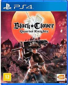 Game Black Clover Quartet Knights - PS4