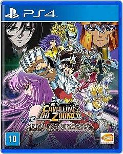 Game Os Cavaleiros do Zodiaco Alma dos Soldados - PS4