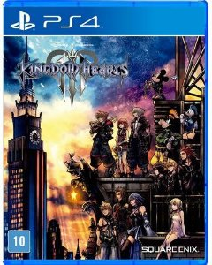 Game Kingdom Hearts 3 - PS4