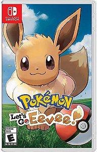 Game Pokémon Let's Go Eevee ! - Switch