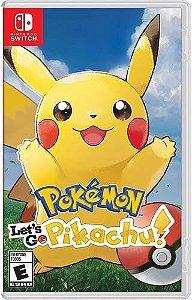 Game Pokémon Let's go Pikachu ! - Switch