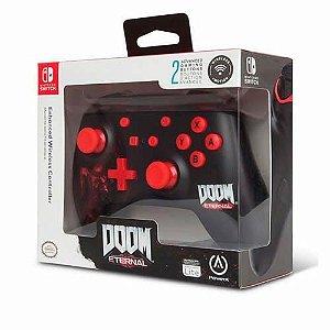 Controle Sem Fio PowerA Doom Eternal - Switch