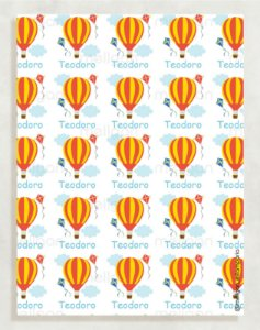 Papel Crepom Infantil 31 - Balão - 30 unid