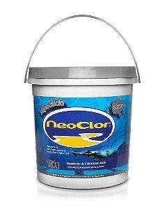 Cloro Hipoclorito de Cálcio HIPOCÁLCIO Neoclor Balde 10KG