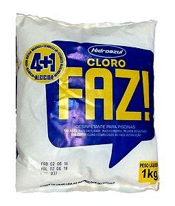 Cloro FAZ 4x1 Hidroazul 1KG