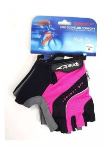 Luva Speedo Gel Bike Rosa
