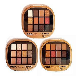 Paleta de Sombras 12 Cores Pro Matte Eyeshadow Defition Playboy