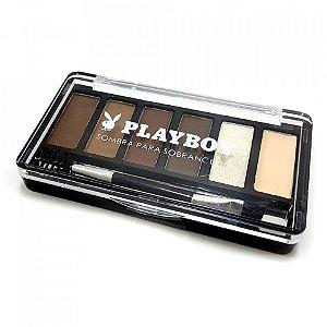 Kit de Maquiagem para Sobrancelha Playboy
