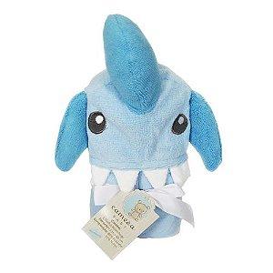 Toalha Aconchego Tubarão Azul Camesa