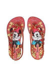 Chinelo Ipanema Kids Infantil Sandália Disney Joy Vermelho
