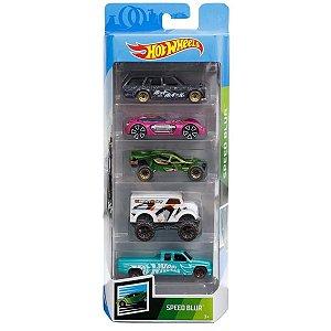 Carrinhos Hot Wheels - Pacote com 5 Carros - Mattel