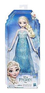 Boneca Disney Frozen Clássica Hasbro - Elsa