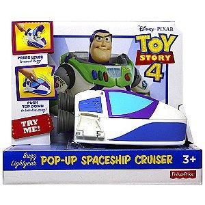Toy Story 4 - Nave Espacial Buzz Lightyear - Mattel