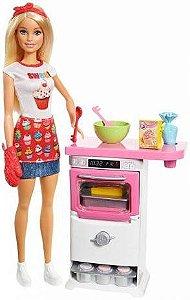 Barbie Chef De Bolinhos Mattel
