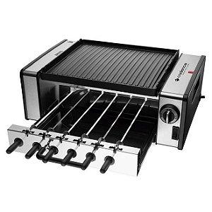 Churrasqueira Elétrica Automatic Grill Inox - Cadence