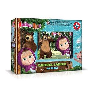 Quebra Cabeças Masha E O Urso - Estrela